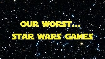 Our Worst Star Wars Games